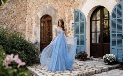 Ein märchenhafter Auftritt im Tüllkleid